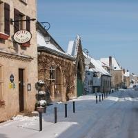Hôtel de Vougeot en hiver