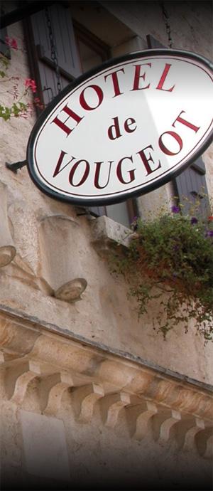 Enseigne sur l'Hôtel de Vougeot