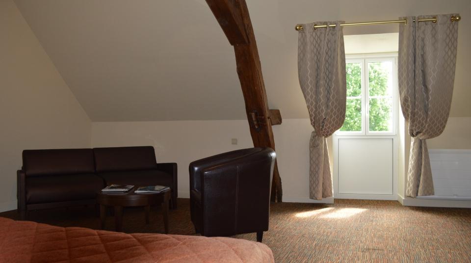 Chambre familiale Hotel de Vougeot