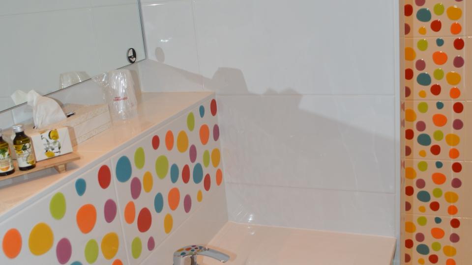 salle de bain chambre de luxe