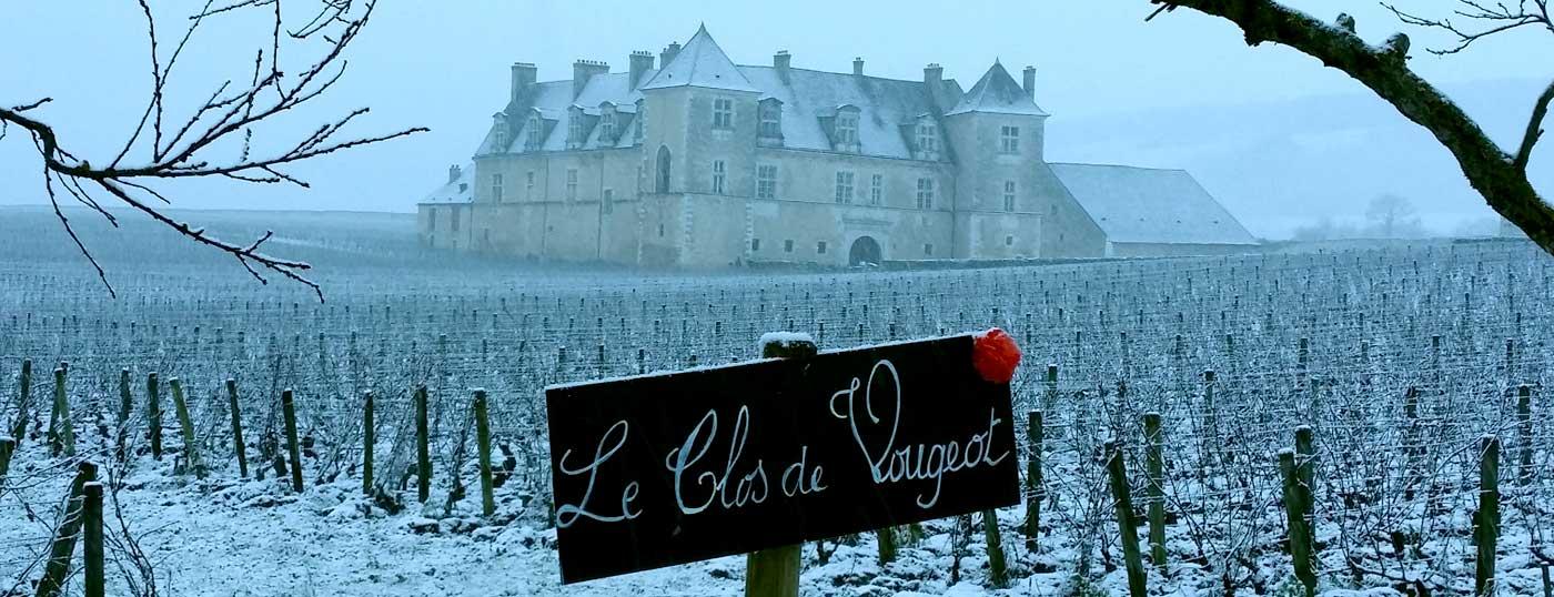 The famous Chateau du Clos de Vougeot